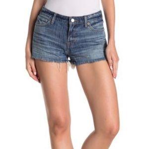 NWT Lucky Brand The Cut Off Denim Shorts